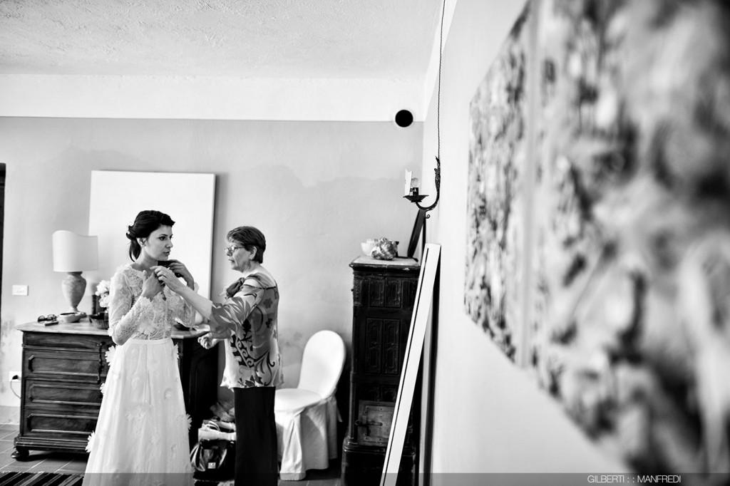 Preparazione sposa Convento dell'Annunciata Medole