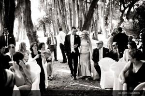 009 fotografo matrimonio castello di villanova cerimonia all'aperto