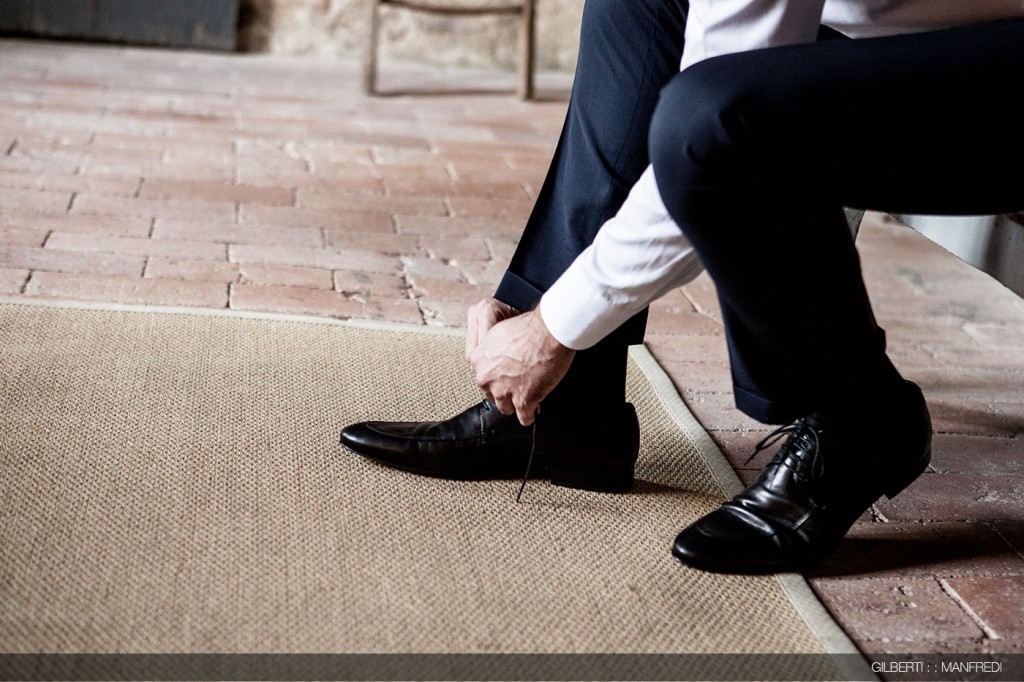 Scarpe nere sposo