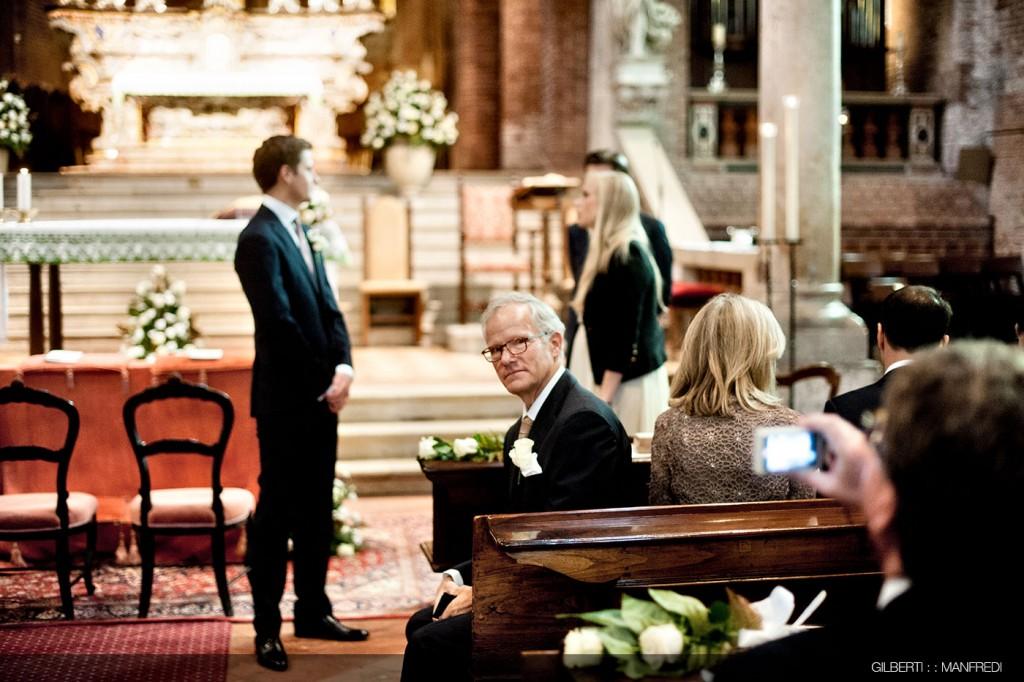 Attesa padre sposo