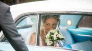 lo sguardo della sposa allo sposo