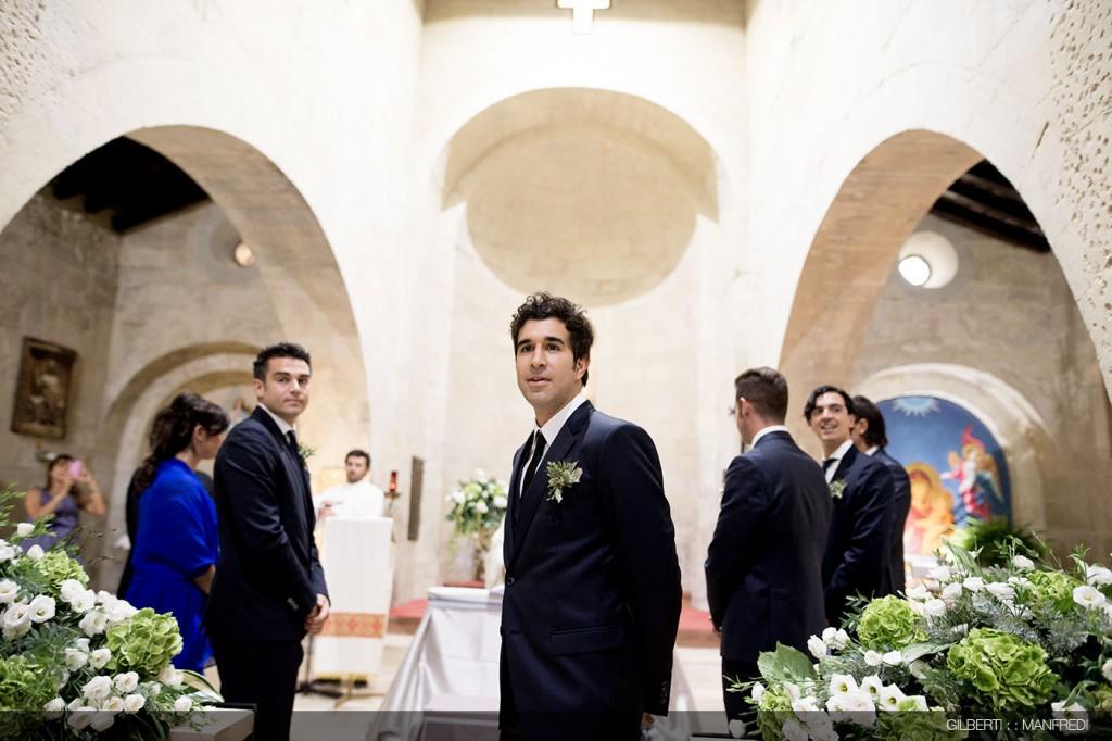 attesa chiesa sposo
