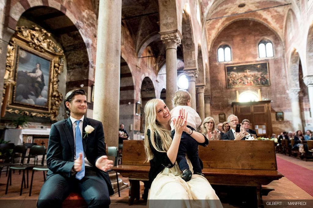 Testimoni sposo chiesa