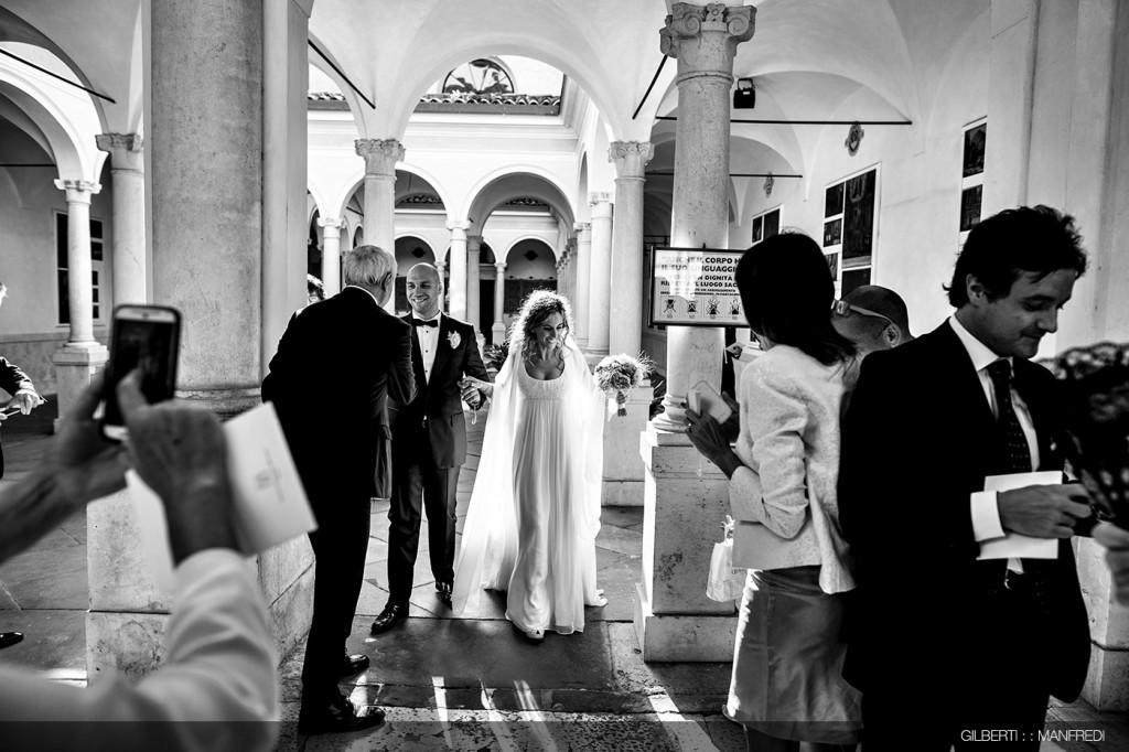 Uscita sposi chiesa