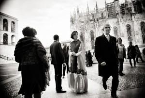 02 fotografia matrimonio milano arrivo della sposa