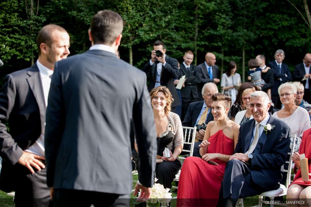 Genitori sposo matrimonio