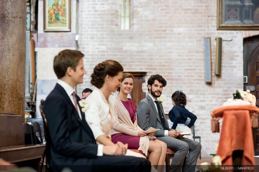 Testimoni sposa chiesa