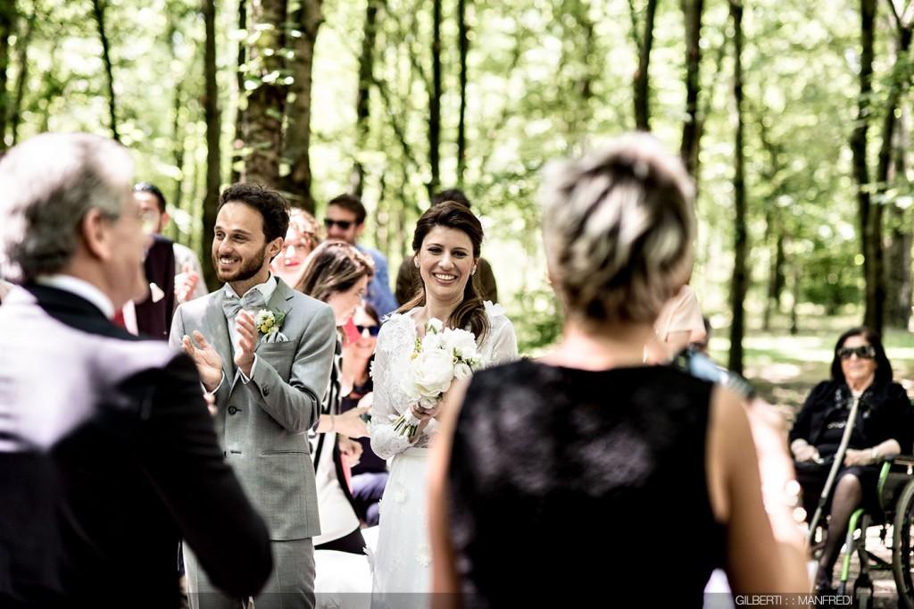 Applauso sposi