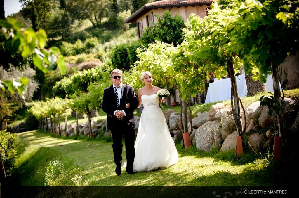 023 fotografo matrimonio aosta arrivo della sposa
