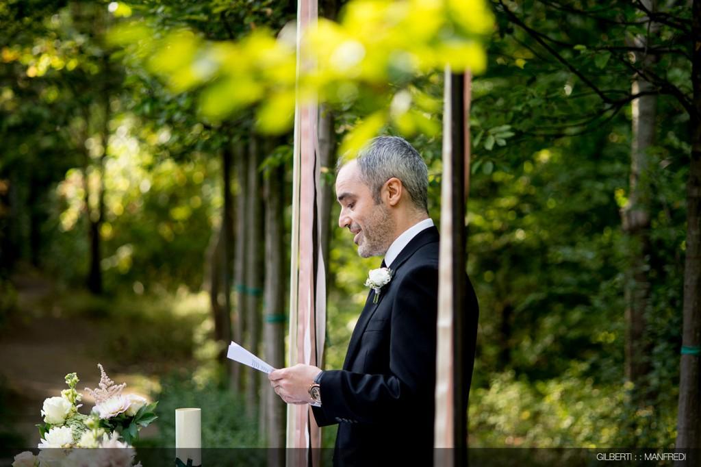 Letture testimone sposa