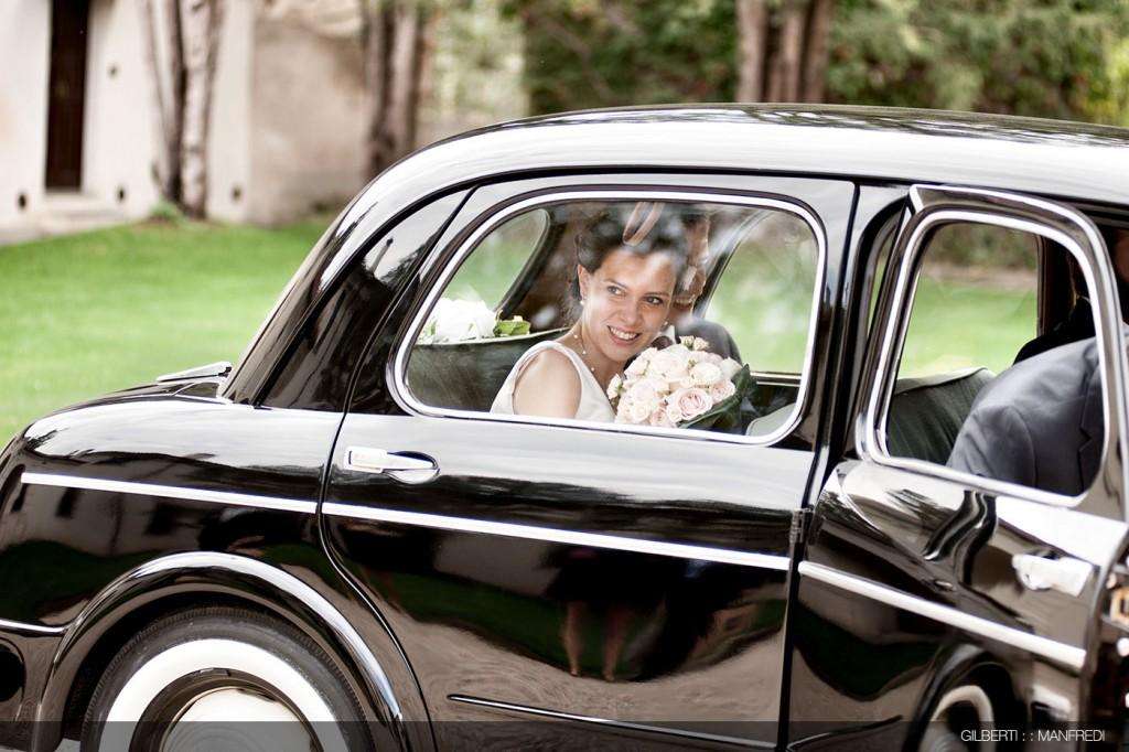 Villa Affaitati arrivo sposa