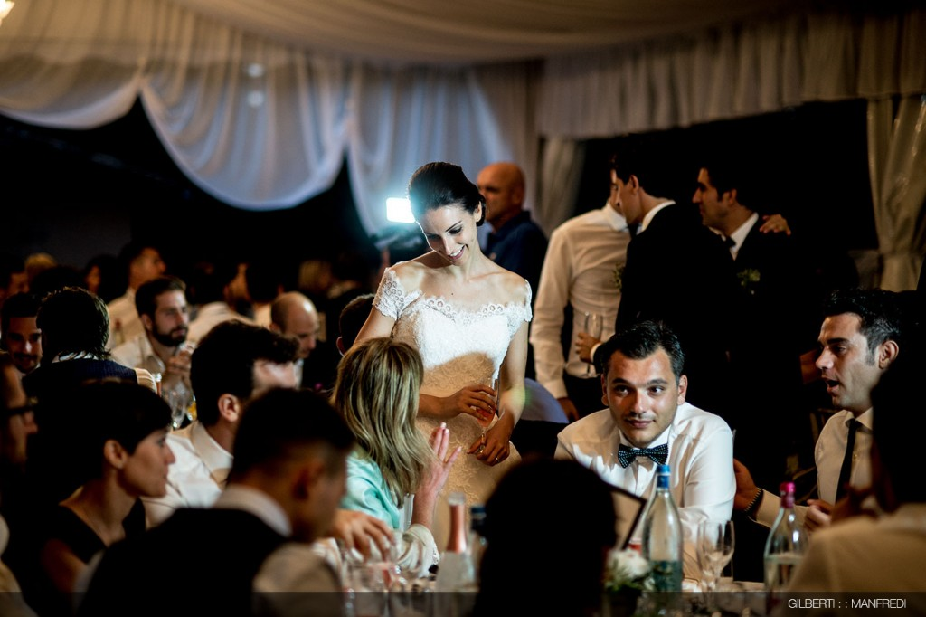 sorrisi invitati sposa