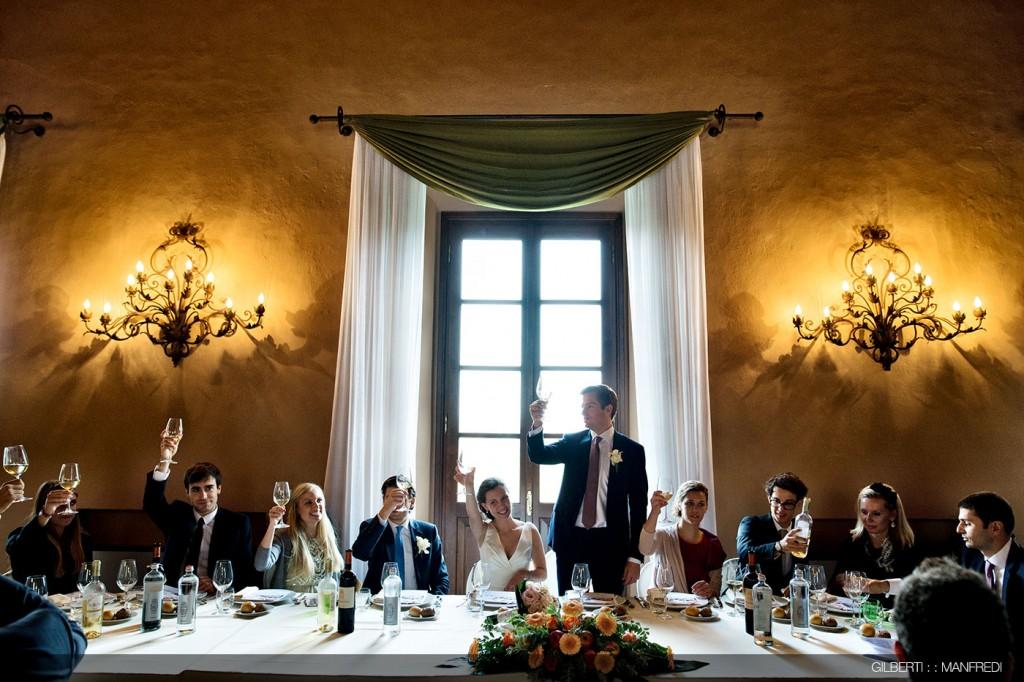 Brindisi sposi Villa Affaitati