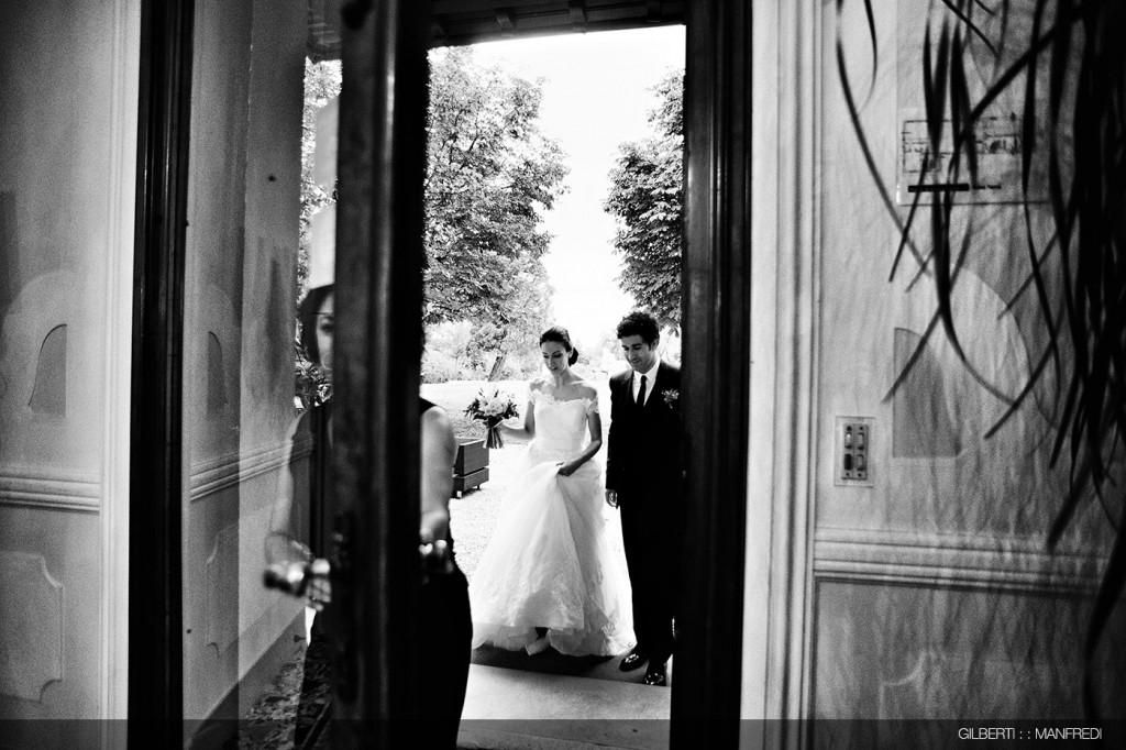 ingresso ristorante sposi