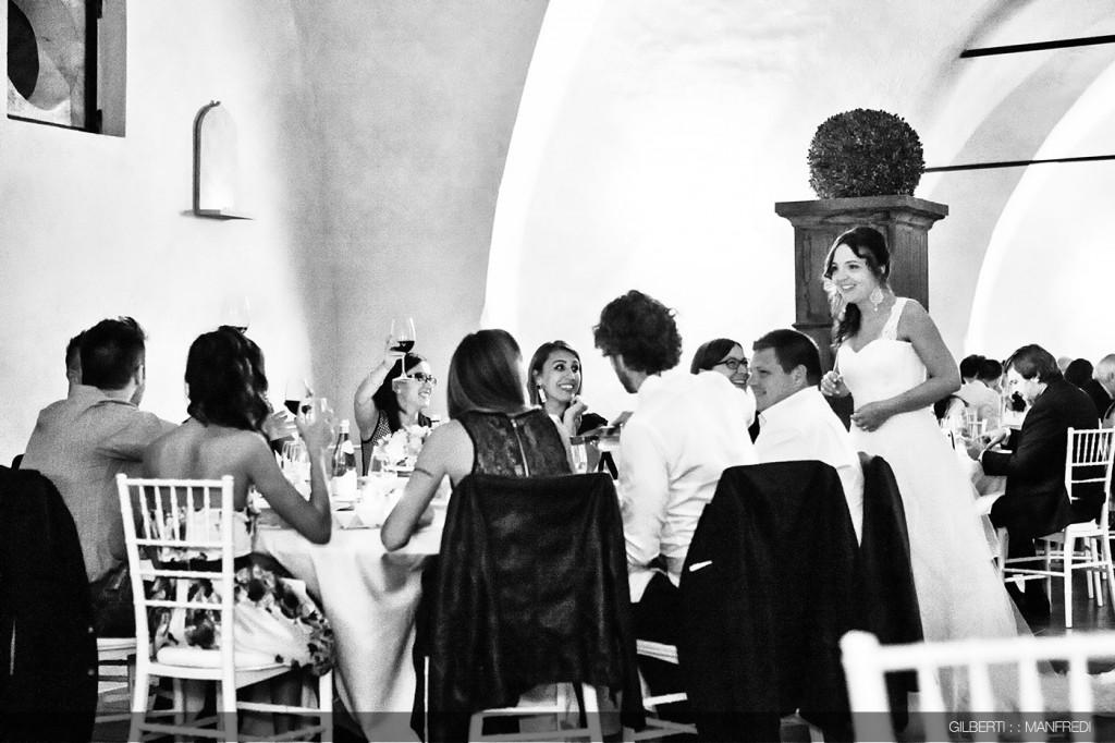 Cena matrimonio sala sposi