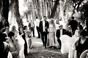 08 Fotografia matrimonio mantova sposo verso l'altare