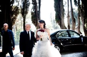 09 Wedding reportage matrimonio thomas e serena arrivo sposa