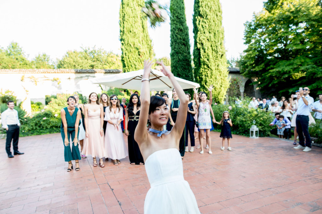 lancio bouquet brescia matrimonio