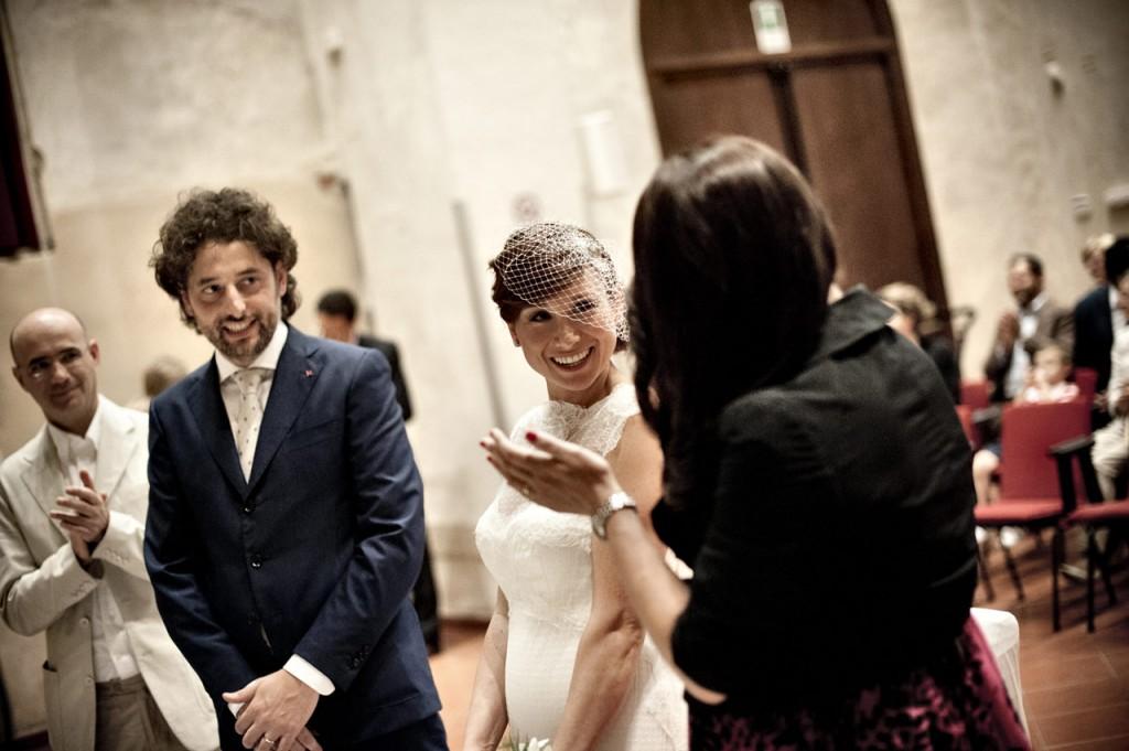 fotografia matrimonio brescia sposi in chiesa
